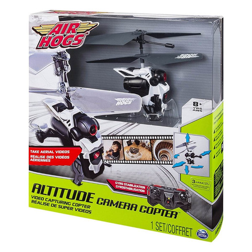 dron air hogs altitude video capturing copter gyro drone