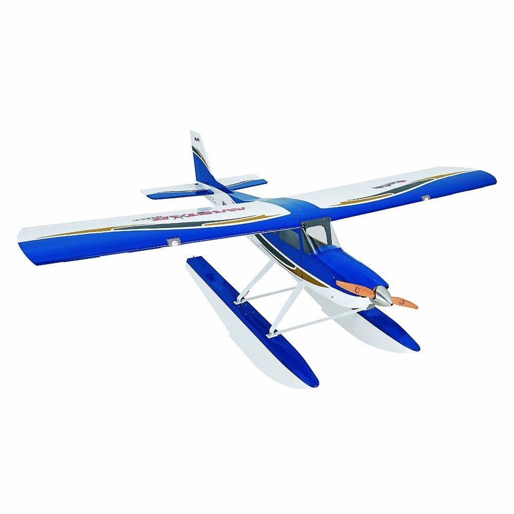Dron Avión Control Gpma1675 Avión Avistar 30cc, Color Azul ...