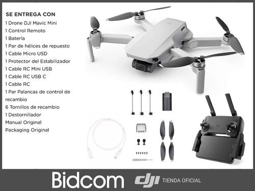 dron dji mavic mini original + accesorios garantia oficial