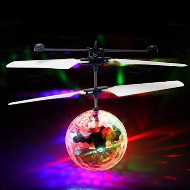 dron flying ball esfera voladora recargable