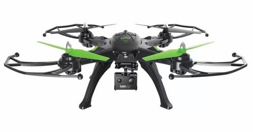 dron grande cámara rc hd movible transmite celular estable