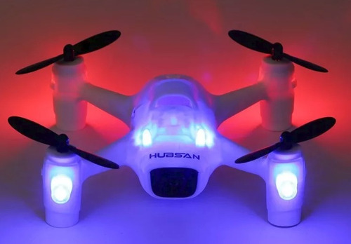 dron hubsan h107c+ 720p hd came drone quadcopter white/blue