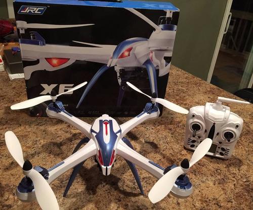 dron jjrc tarantula x6 carga camara go pro |