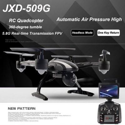 dron jxd 509g 5.8g cámara 2.0mp rc quadcopter  negro  as