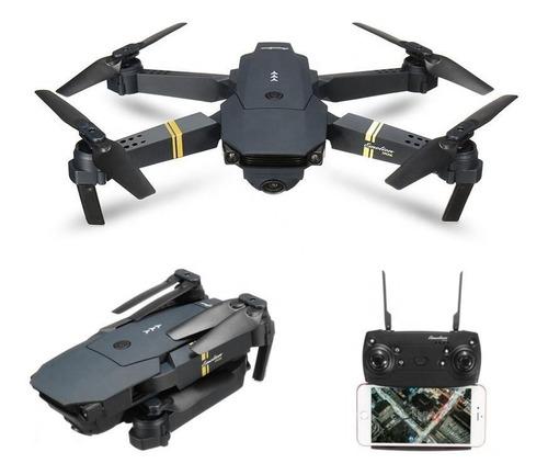 dron professional e58 con cámara 4mp -1080p + 2 baterías