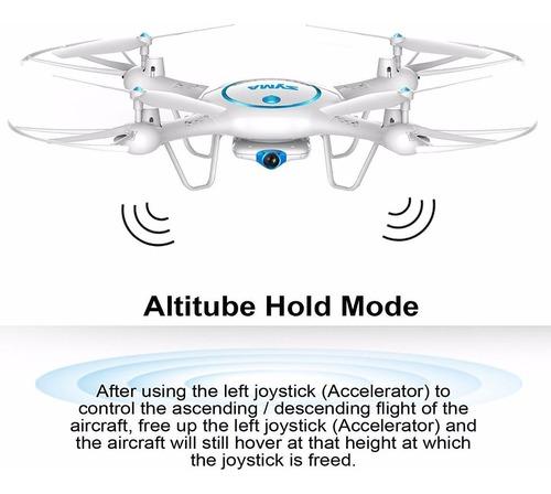 dron syma x5uw wifi fpv quadcopter drone 720p hd camera msi
