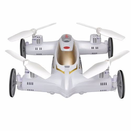 dron syma x9s flycar quadcopter drone rc 4ch 6-axis blanco