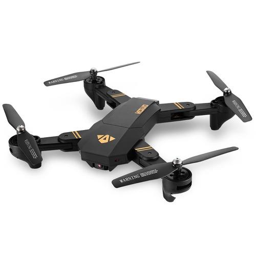 dron visuo xs809hw 720p 2mp nuevo + 2 baterias caja doblada