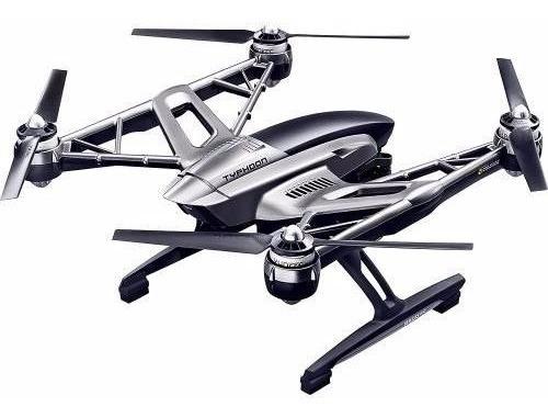 dron yuneec typhoon 4k quadricóptero con maletín.