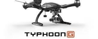 dron yuneec - typhoon g rtf drone quadricóptero - negro