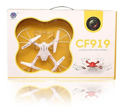 drone 6 ejes cf-919 2.4g básico quadcopter abs + control