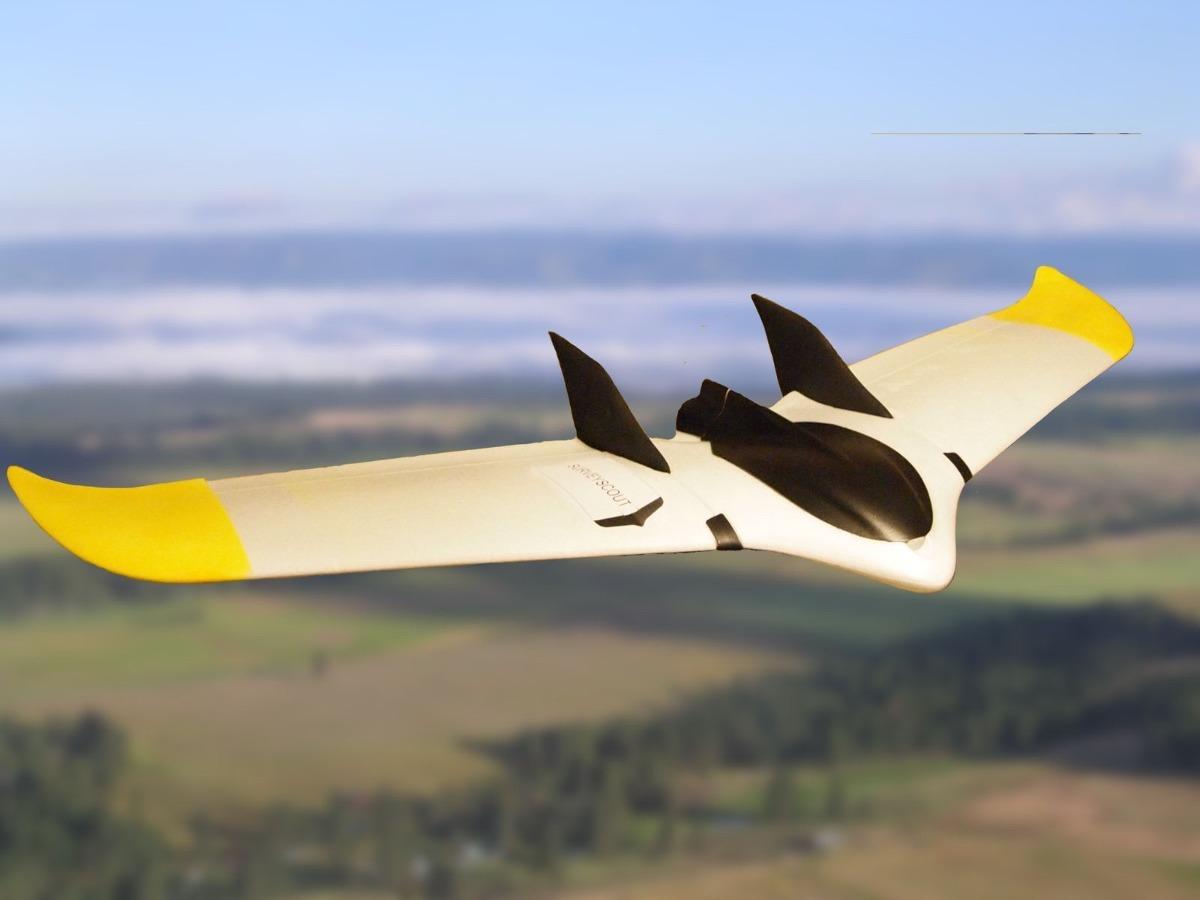 drone ala fija survey scout para topografia