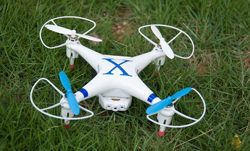 drone android wifi cheerson cx30w cámara + accesorios