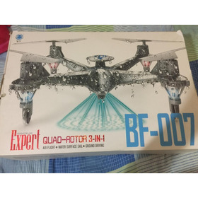 Drone Bf-007 3 Em 1 Fpv Via Wi-fi 2.4ghz 4 Canais/