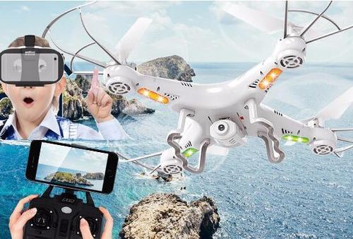 drone c camera wifi ao vivo vr quadricoptero oculos 3d t3551