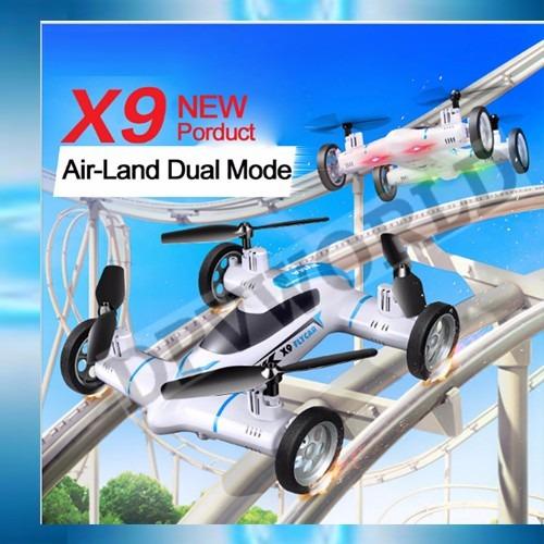 drone camara auto hd aire tierra dron carro flyincar mic sd