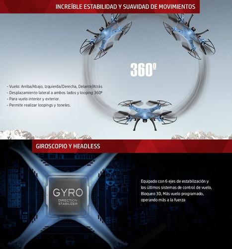 drone camara syma x5hw transmite en vivo al celular fpv hd
