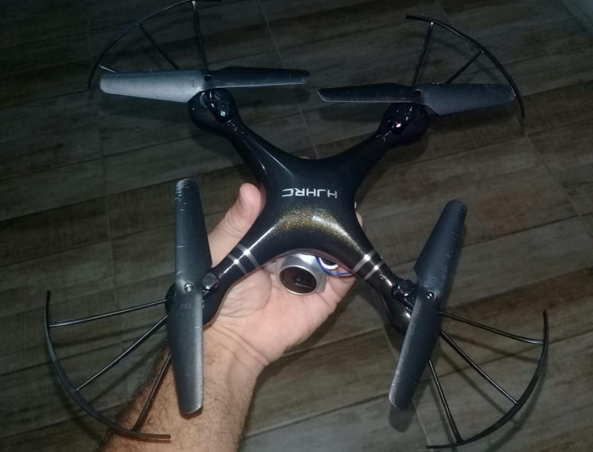 Drone Com Câmera 2mg Hj14w Fpv Transmissão Em Tempo Real