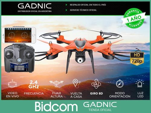 drone con camara hd gadnic 4ch giro 360 video y foto en vivo