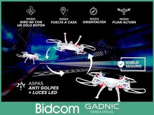drone control remoto rc camara hd 720p gps bateria recargabl