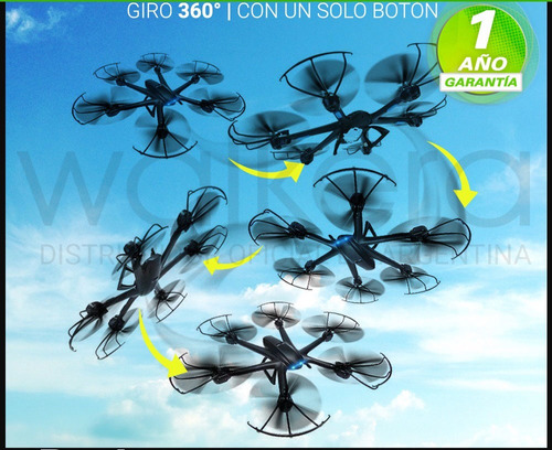 drone cuadricoptero mjx 600 camara video vivo fotos gps hd