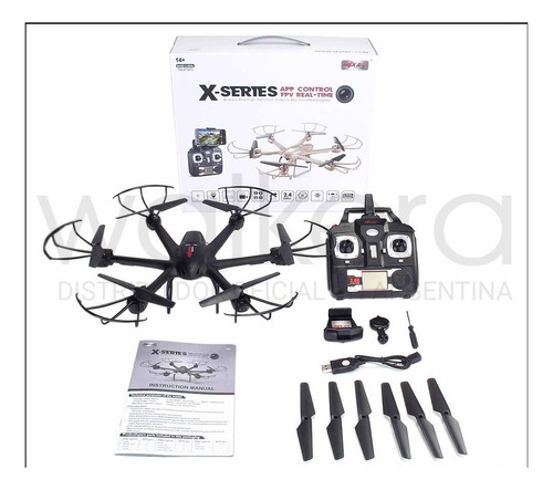 drone cuadricoptero mjx 600 camara video vivo fotos gps hd