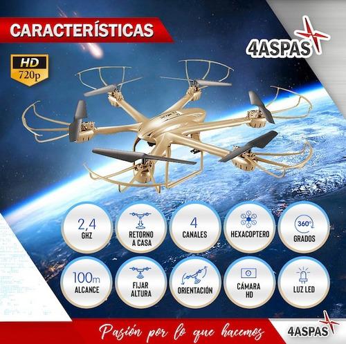 drone cuadricoptero rc radio control camara filma en vivo hd