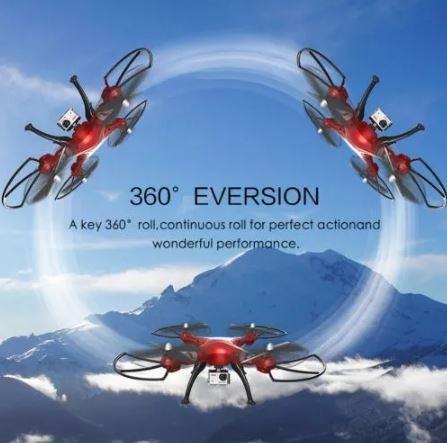 drone cuadricoptero syma x8hg camara hd carga peso mod 2018