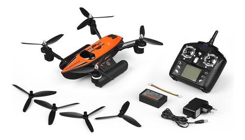 drone cuadricoptero wltoys q353 triphibian agua tierra aire