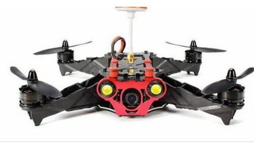drone de carreras co lampara led