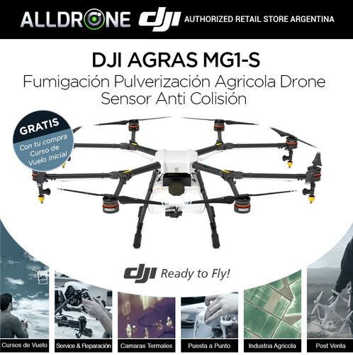drone dji agras mg-1s fumigacion pulverizacion agricola
