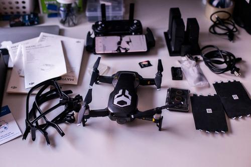 drone dji mavic air flymore combo/3 baterias/ filtros nds pr
