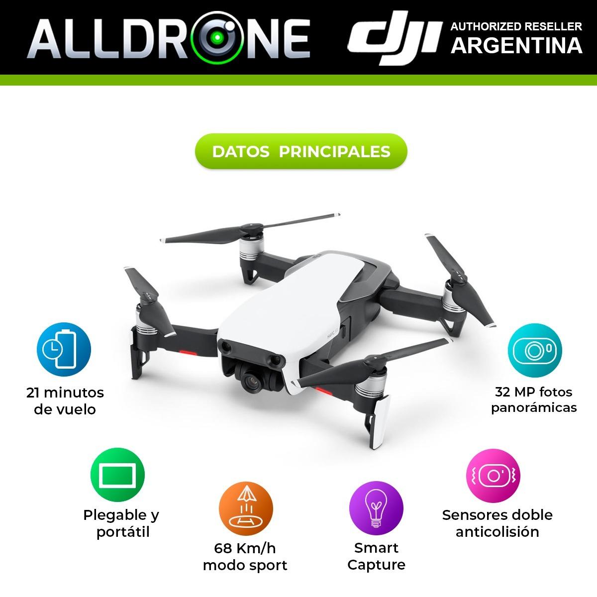 DJI Mavic Pro 4K 12MP Ultra HD Cámara drone volar más Combo-accesorios que faltan