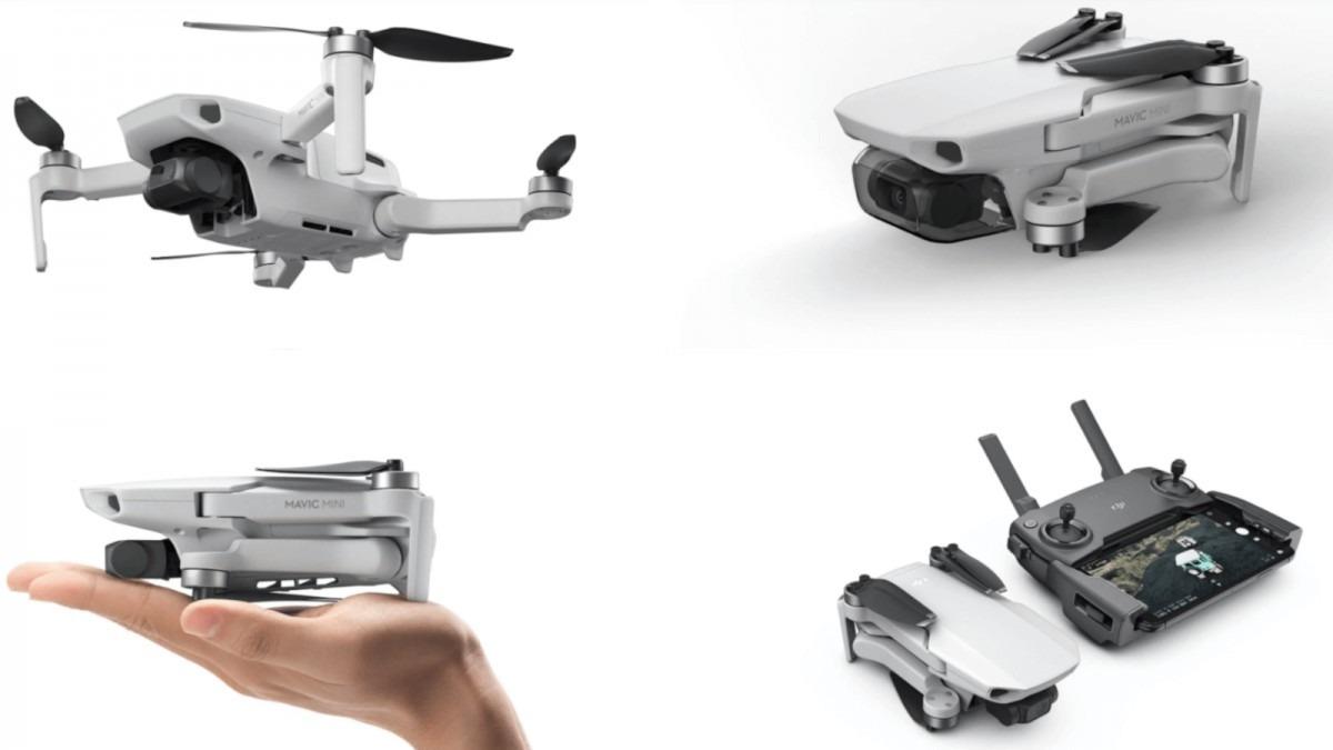 Drone Dji Mavic Mini Combo Fly More - Pronta Entrega - R ...