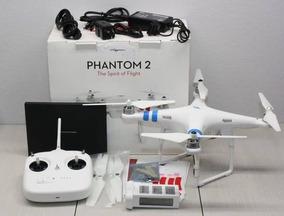Dji Phantom 2 >> Drone Dji Phantom 2 Con Zenmuse H4 3d Y Go Pro 4 Hero Black