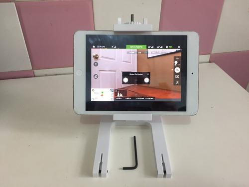 drone dji phantom 3, suporte para celular e tablet até 7 pol