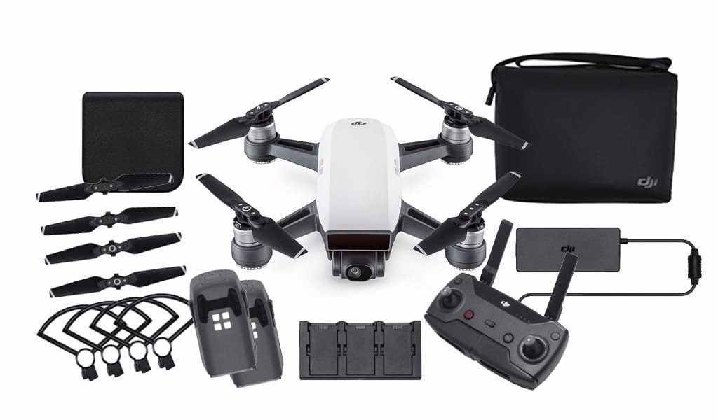 Drone Dji Spark Combo More Fly - Original - Pronta Entrega ...