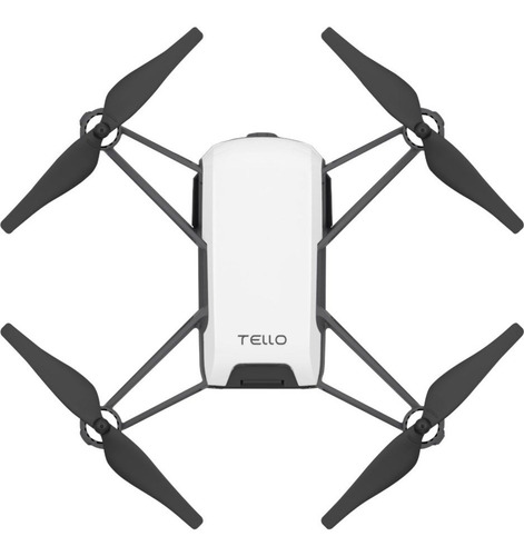 drone dji tello con cámara full hd white