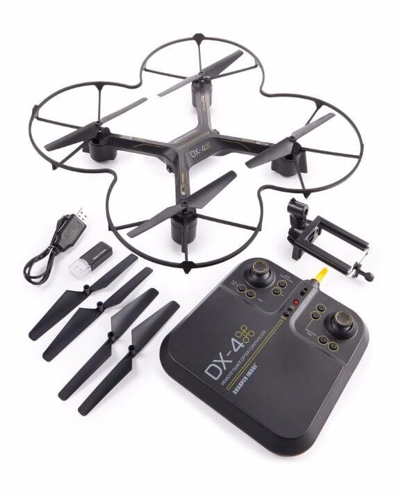 Drone Dx 4 Video Streaming Hd Autoaterrizaje Y Autodespegue
