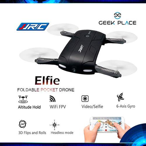 drone  elfie  jjrc de bolsillo para hacer selfies aéreos