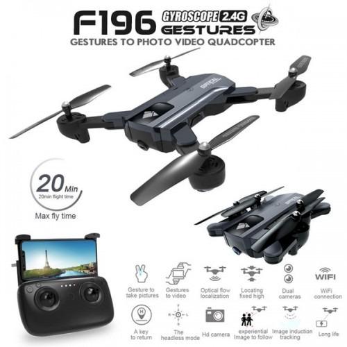 drone f196 cámara de alta definición de 2mp hd flujo óptico