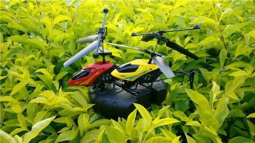 drone helicoptero volador control remoto de 2.5 canales luz