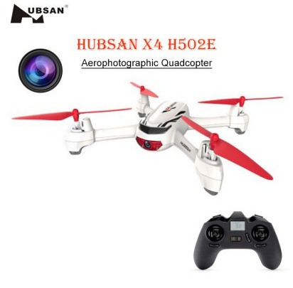 drone hubsan h502e auto-retorno gps cámara hd control altura