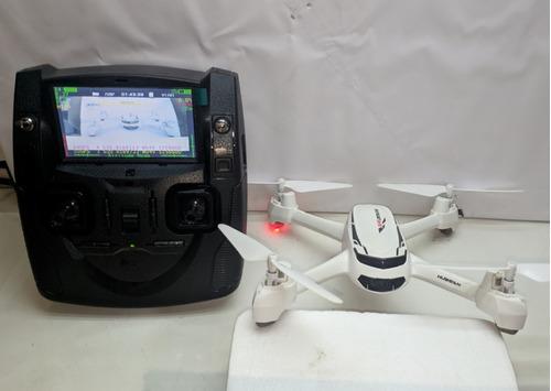 drone hubsan h502s + r$ 500,00 em acessórios