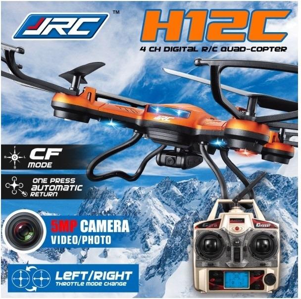 Drone Jjrc H12c Quadcoptero C Camara Retorno Automatico