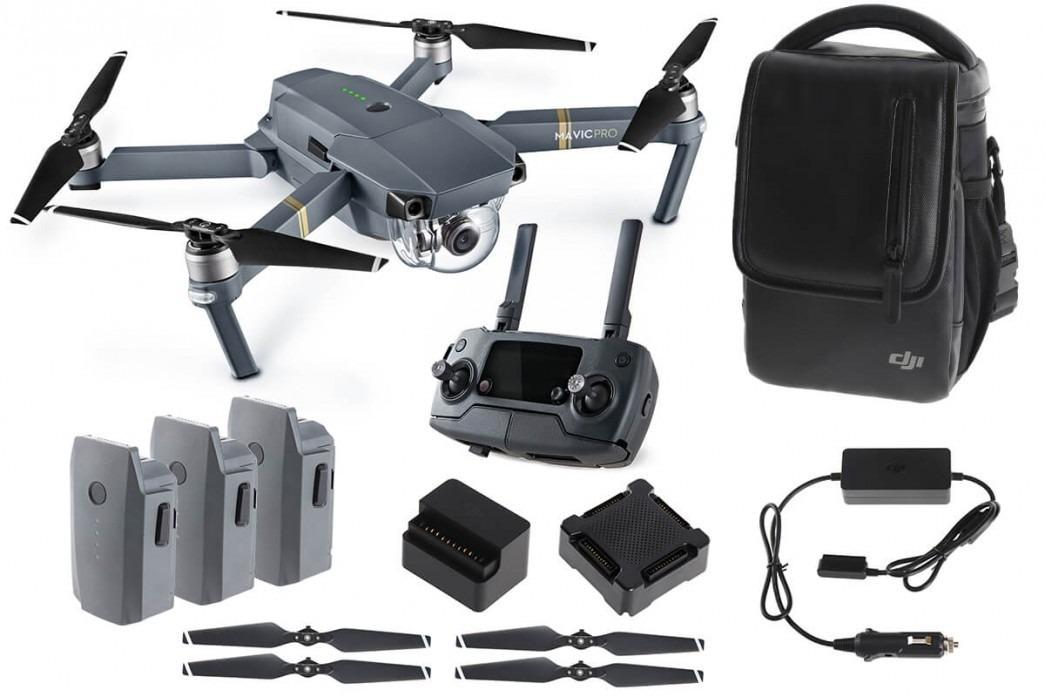 Drone Mavic Pro Dji Fly More Combo Pronta Entrega - R$ 6 ...