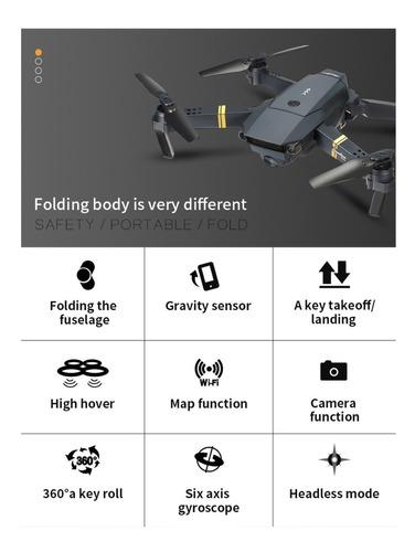 drone original eachine e58 com câmera - h8 e52 e55