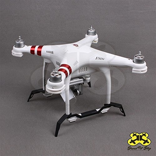 Drone Pit Stop Landing Gear for Phantom 3 Landing Legs Increase Ground Clearance and Hight of Your DJI Phantom 3