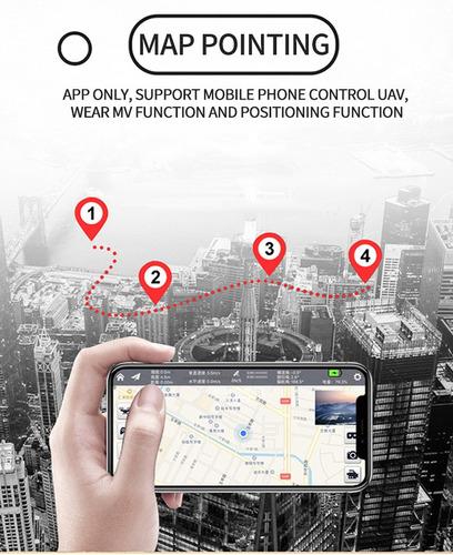 drone plegable 5g gps wifi 4k 1080p hd regreso automatico