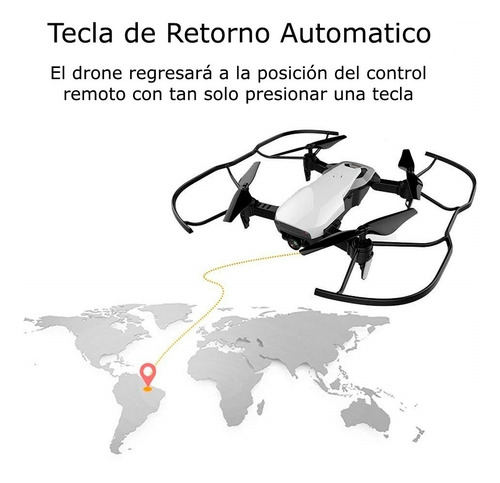 drone plegable cámara video fpv 720p control remoto s163 optical flow selfie reconocimiento facial